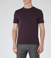 Bless Crew Neck T-shirt Wine Berry