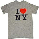 I Love NY T-Shirt - Size: Adult - Color: Grey