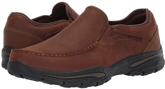 Skechers Relaxed Fit Creston - Artie (Dark Brown) Men's Shoes