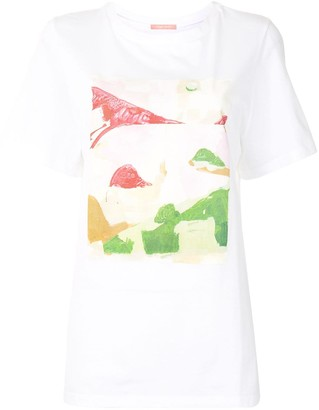 Maggie Marilyn abstract-print cotton T-shirt