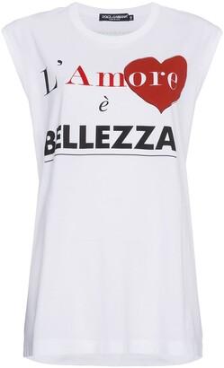 Dolce & Gabbana L'Amore E Bellezza T Shirt