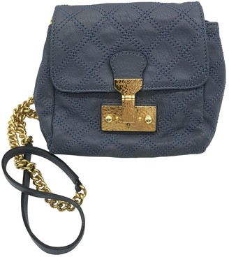 Marc Jacobs Single Blue Leather Handbags