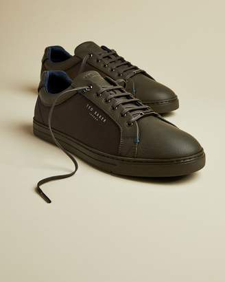 Ted Baker Textile And Leather Trainers
