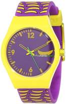 RumbaTime Women's 11774 Delancey Bananabeat Multicolor Modern Stylish Analog Watch