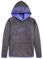 Under Armour Girls' Big Logo Storm Fleece Hoodie - Sizes XS-XL