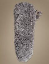 Marks and Spencer Faux Fur Fleece Slipper Socks