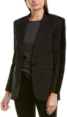 The Kooples Smoking Suit Wool-Blend Blazer