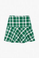 Thumbnail for your product : Monki Flounce hem mini skirt