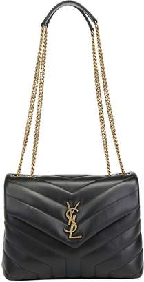 Saint Laurent Loulou Matelasse Small Shoulder Bag