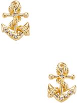 Tai Women's Anchor Stud Earrings