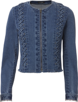 Exclusive for Intermix Venus Lace-Up Jacket