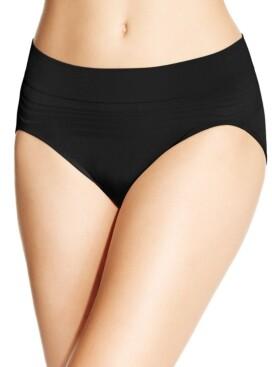 Warner's No Pinches No Problems Striped Hi Cut Brief Underwear RT5501P