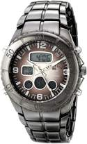 U.S. Polo Assn. Men's Gun Metal Analog-Digital Sporty Bracelet Watch US8139
