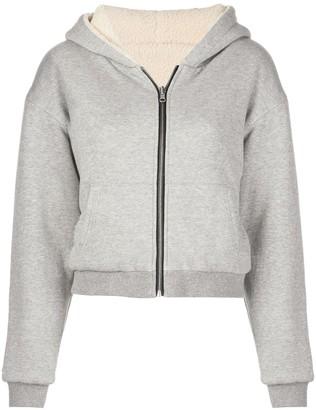 John Elliott reversible cropped hoodie