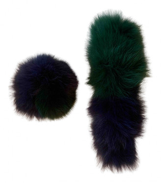 CHARLOTTE SIMONE Multicolour Fox Scarves