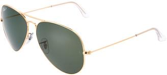 Ray-Ban Unisex Rb3025 Polarized 62Mm Sunglasses