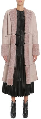 Alexander McQueen Long Shearling Coat