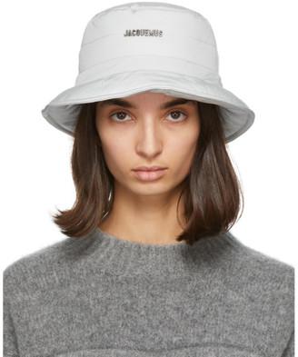 Jacquemus Grey Le Bob Doudoune Beach Hat