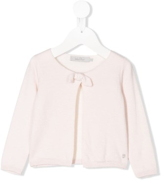 Christian Dior Bow Detail Cardigan