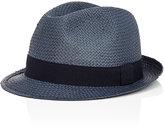Barneys New York MEN'S SAM HAT-BLUE SIZE M
