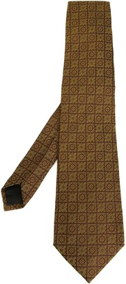 Romeo Gigli Pre-Owned patterned tie