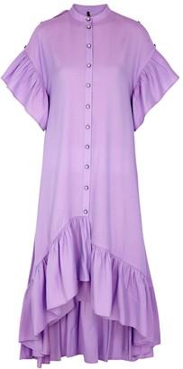 Palones Skye lilac iridescent rayon-blend dress