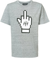 Mostly Heard Rarely Seen Middle Finger T-shirt - men - Cotton - XXL