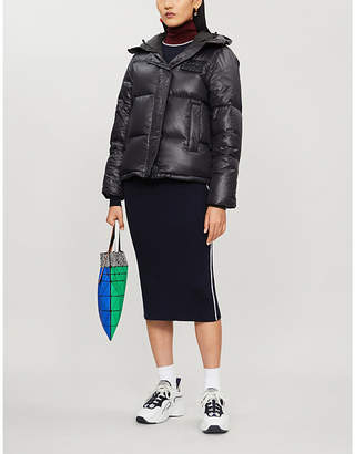 Kenzo Padded quilted high-neck shell jacket