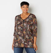 Avenue Floral Dolman Top