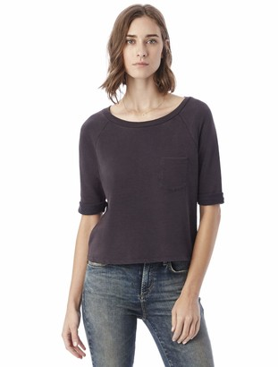 Alternative Women's Light Weight French Terry Your Brother's Pullover