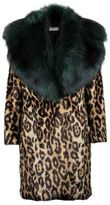 Dries Van Noten Leopard Print Coat