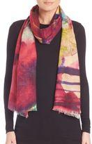 Bindya Watercolor Cashmere & Silk Scarf