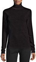 Joseph Wool Turtleneck Sweater, Black