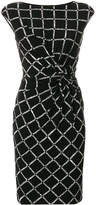 Lauren Ralph Lauren knotted checked dress