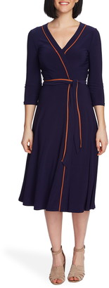 Chaus Elemental Wrap Dress