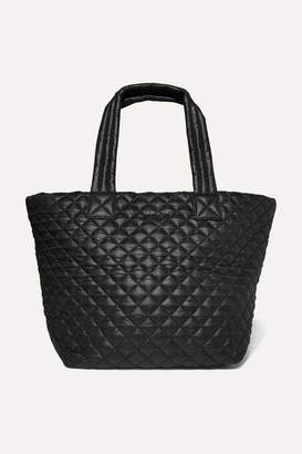 MZ Wallace Metro Quilted Shell Tote - Black