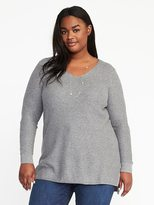 Old Navy Relaxed Plus-Size Textured Tunic