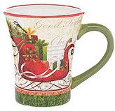 Certified International Winter Garden Sleigh Mug