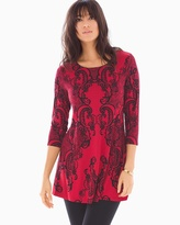 Soma Intimates 3/4 Sleeve Swing Tunic