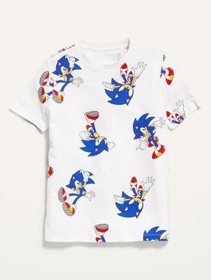 Old Navy Sonic The Hedgehog Gender-Neutral Tee For Kids