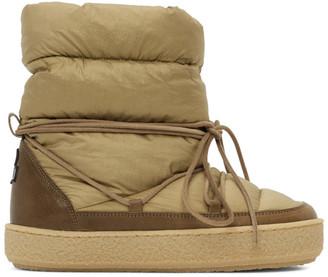 Isabel Marant Khaki Zimlee Ankle Boots