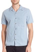 Nudie Jeans Brandon Organic Cotton Denim Shirt