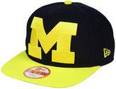New Era Michigan Wolverines Logo Grand Redux 9FIFTY Snapback Cap