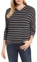 Stateside Women's Stripe Thermal Hoodie