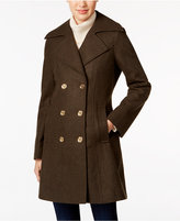 MICHAEL Michael Kors Double-Breasted Military Peacoat