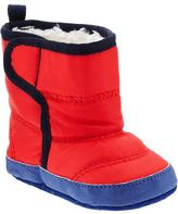 Old Navy Quilted Faux-Fur Lined Booties for Baby