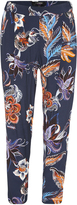 Oxford Floral Pant Nvy X