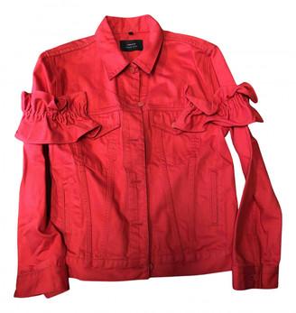 Simone Rocha Red Cotton Jackets