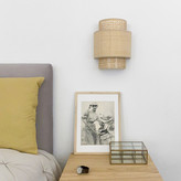 R De Room R de Room - Wall Light Shade of Cannage with Natural Finish