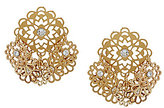 Kate Spade Golden Age Filigree Flower Shaky Earrings